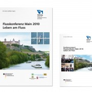 Kommunikationsmaterialien Flusskonferenz Main