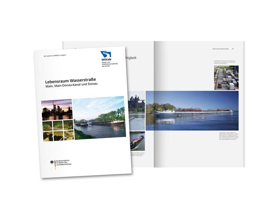 """Broschüre """"Lebensraum Wasserstraße"""""""